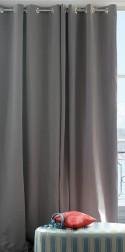 Rideau Thermique Œillets Salto Acier 140x250