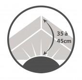 Drap Housse  Jersey 140x190 Maxi Bonnets Coton Extensible Lin