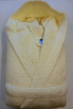 Peignoir Capuche 100% coton- 500 gr/m²