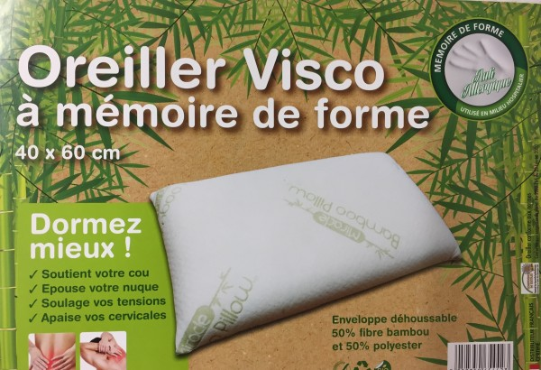 2 taies Blanc et Rose, Taille S Mimos/® Oreiller LOT