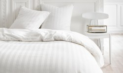 Housse de Couette Percale 220x240 Constance Chantilly