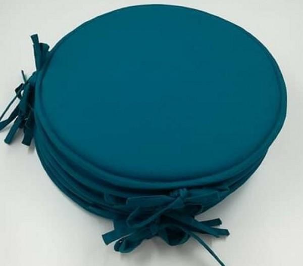 arrivage lot de 6 galettes de chaise ronde de coloris. Black Bedroom Furniture Sets. Home Design Ideas