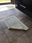 Lot de 2 tapis de bain Lutèce 50x80 antidérapant