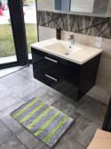 Lot de 2 tapis de bain Malo Antidérapant 50x80cm
