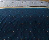 Housse de Couette Percale 220x240 Fortuné + 2 taies 65 x 65