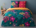 Housse de Couette Percale 220x240 Camille + 2 taies 65 x 65