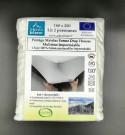 Protège Matelas molleton coton 400gr/m² Bonnets 35cm