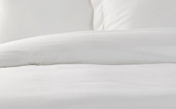 50x70cm Alpes Blanc Housse de Couette 240x280 Unie Blanche Coton Dimensions oreillers 2 taies Assorties