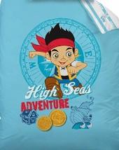 Housse de couette 140x200 - Disney Jake and Pirates Tresor