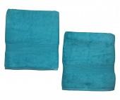 Lot de 2 Serviettes / draps de bain Eponge 600 g/m²  100 % coton