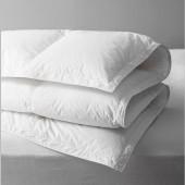 Couette été naturelle en duvet 130 gr/m² - Alpes Blanc