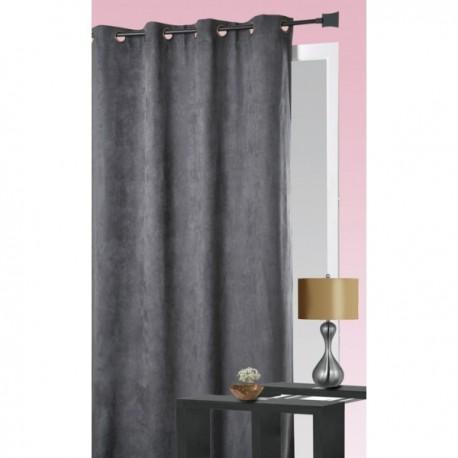rideau su dine gris anthracite 140x260. Black Bedroom Furniture Sets. Home Design Ideas