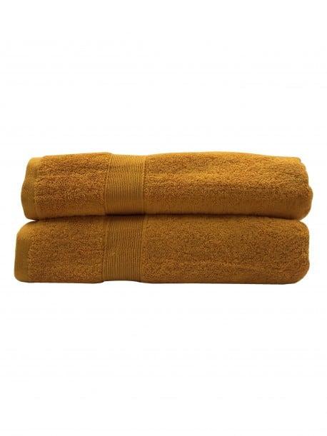 Lot de 2 Draps de bain Eponge 600 g/m²  100 % coton