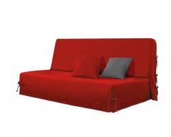 Housse de clic clac Stella - Rouge - 100% coton
