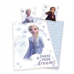 Housse de couette 140x200 Frozen 2 Chase your Dreams