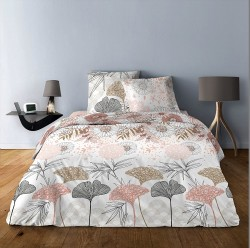 Couette hiver microfibre Flowers 140x200