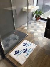 Tapis de bain 100 % Acrylique Antidérapant Malo 50x80 cm