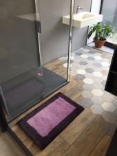 Tapis de bain Bahia Antidérapant 100 % Acrylique 50x80 cm
